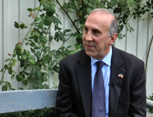 Decernarea titlului doctor honoris causa Ambasadorului SUA